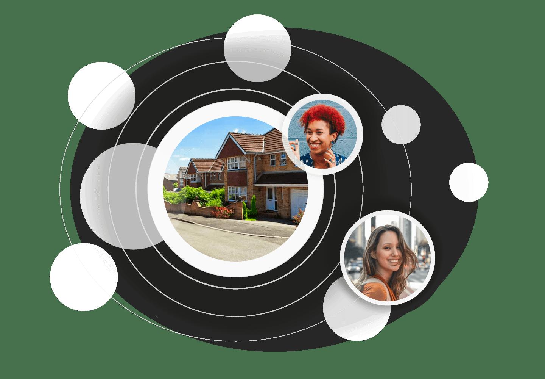 assign tenants to properties with hammock