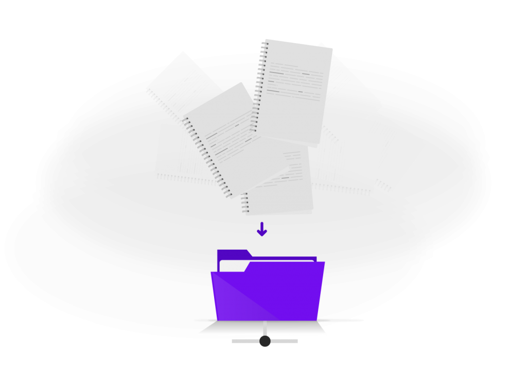 attach and save invoices and receipts on Hammock