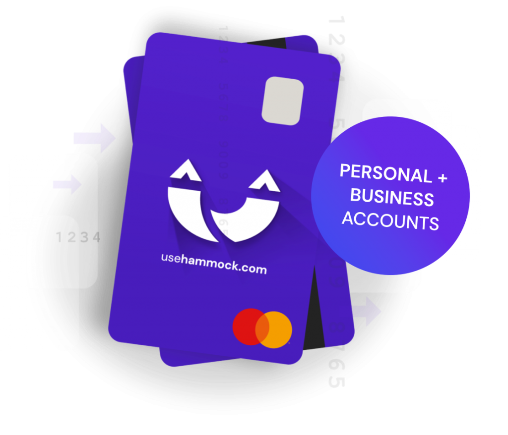 Manage personal and business accounts with Hammock