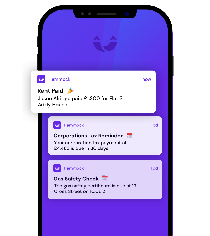 Instant notifications on your mobile phone
