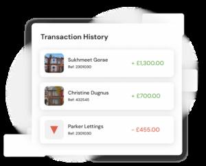 View live property transaction history on Hammock's platform