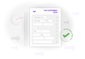 complete tax return on time, get property tax statement with hammock